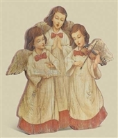 12 INCH ANGELCHOIR GICLEE PLAQUE