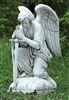 "13.25"" KNEELING MALE ANGEL"