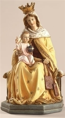 8 INCH OUR LADY OF MT. CARMEL FIG