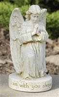 "5.5"" ALWAYS WITH YOU MEMORIAL ANGEL STATUE"