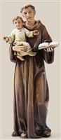 "6.25"" ST. ANTHONY STATUE, 6 INCH SCALE"
