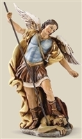 7.25 INCH ST. MICHAEL 6 INCH SCALE FIG