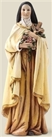 "6.25"" ST. THERESE STATUE, 6 INCH SCALE"