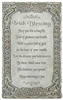 8 INCH IRISH BLESSING WALL PLAQUE
