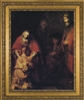 "Prodigal Son by Rembrandt Framed Image, 8"" X 10"""