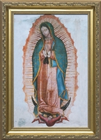 "Our Lady of Guadalupe Framed Image, 6"" X 9"""