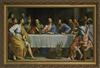 "Last Supper by Champagne Framed Image, 6.5"" X 10"""