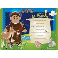 St. Francis Faith Mat- Place Mat