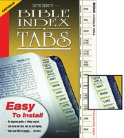 Bible Index Tabs, Verse Finders, Standard Catholic Version, Horizontal Tabs