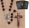 Brown Rosary
