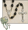 Black Oval Rosary