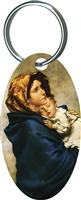 Madonna of the Streets Key Chain