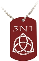 3N1 Red Dog Tag