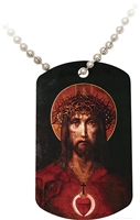 God So Loved... Dog Tag