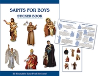 Saints for Boys Sticker Book