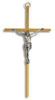 Crucifix with Pewter Corpus