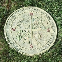 "12"" Four Seasons Garden Plaque"