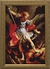 "St. Michael the Archangel Framed Image, 5.5"" X 8.5"""