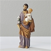 "3.5"" ST. JOSEPH FIGURE PATRONS AND PROTECTORS"