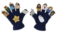 "2PC ST 3"" NATIVITY PUPPETGLOVE"