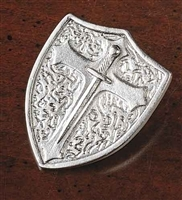 "1.25"" ARMOR OF GOD SHIELD TOKEN"