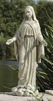 "24"" Our Lady of Grace Outdoor Statue"