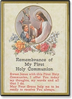 Comm. Boy Rembrance Gold Embossed Magnetic Frames