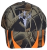 St. Hubert Camo Hat with Orange Stripes (Hunting)