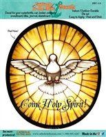 Come Holy Spirit Decal