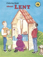 Lent St. Joseph Coloring Book