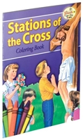 The Stations of the Cross St. Joseph Coloring Book