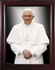 "Pope Benedict Formal Framed Image, 8"" X 10"""