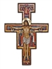San Damian Crucifix, Fully Painted Color, 10""
