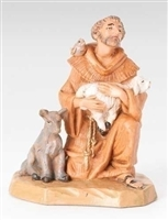 5 in. St. Francis Nativity Figure Fontanini