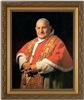 "Formal Portrait John XXIII Framed Art, 8"" X 10"""