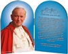 Official Portrait John Paul II Quote Arched Diptych