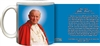 Official Pope John Paul II Quote Mug