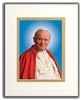 "Pope St. John Paul II Official Portrait, Matted, Print 5"" X 7"", Overall 8"" X 10"""