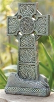 "16.25"" Celtic Garden Cross"