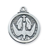 STERLING SILVER HOLY SPIRIT MEDAL