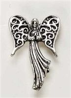 ANGEL ON MY SHOULDER PIN, .75""