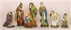 6 pc Nativity Statues w/Angel and Shepherd, 16 in.