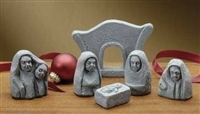 "2"" Celtic Nativity Figurines, 6-Piece Set"