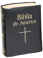 Biblia de America (Spanish Bible), Black Imitation Leather