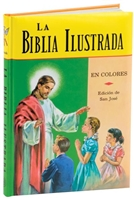 La Biblia Ilustrada, Padded, by Rev. Lawrence Lovasik