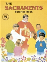 Coloring Book About The Sacraments