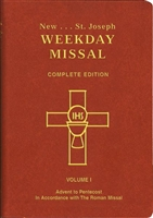 St. Joseph Weekday Missal, Vol. I, Advent to Pentecost, Brown