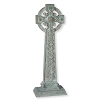"23.5"" Garden Celtic Cross"