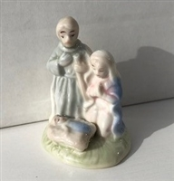 "Nativity Stand, 3"" H., Porcelain"