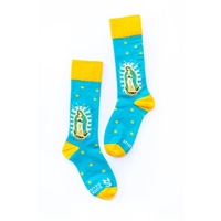 Our Lady of Guadalupe Socks